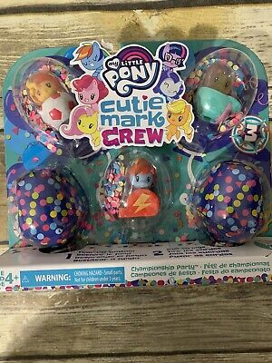 My Little Pony Cutie Mark Crew Series 3 Championship Party 5 Pack NEW