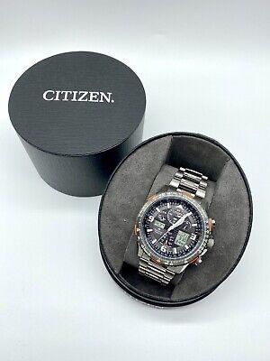 Citizen Eco Drive JY8108-53E Promaster Skyhawk Titanium Watch