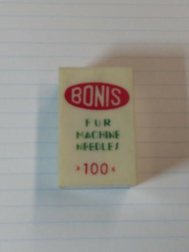 Bonis Fur Machine Needles Pack elehosp