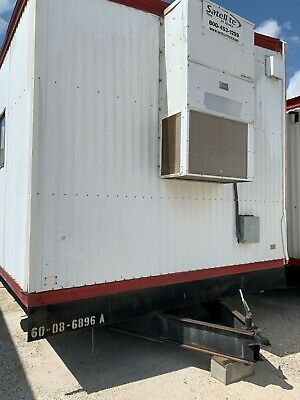 Used 2008 24 X 60 Doublewide Office Trailer S6896 A-b - Houston Tx