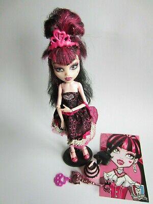 Draculaura Birthday Geburtstag Monster High Mattel mit Zubehör sweet 1600, 2011