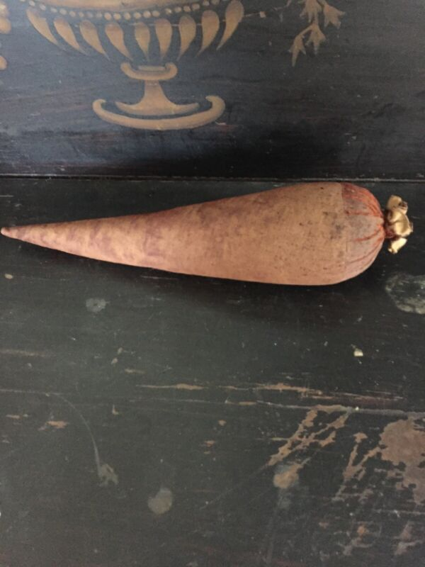 Antique Primitive Early Velvet Carrot Aafa