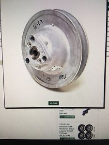 Secondary driven clutch  part #624757
