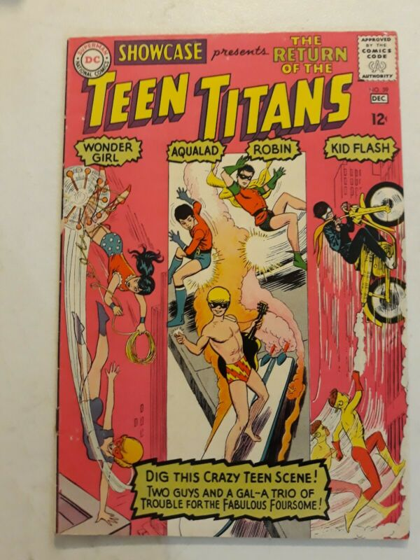 Teen Titans #1 Nick Cardy 1966 Classic cover