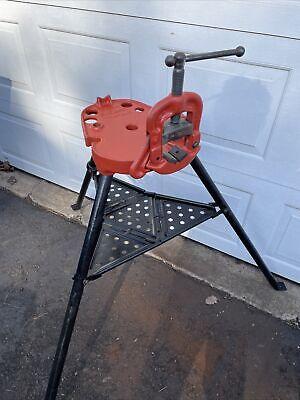 Ridgid No 40a Tristand Ridgid Clamp Vise 18 - 2 12 Used - Nj Pickup