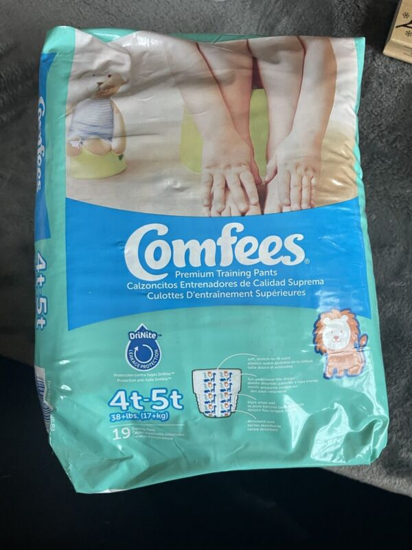 Comfees Toddler Training Pants 4T/5T