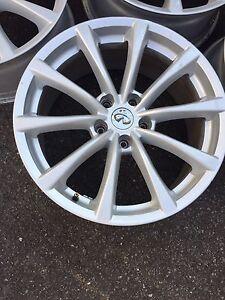18 inch Infinity Alloy Wheels 550$obo