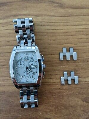 Citizen Eco-Drive Men's Watch including two spare links (pins missing)