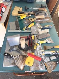Mixed workshop tools and stuff