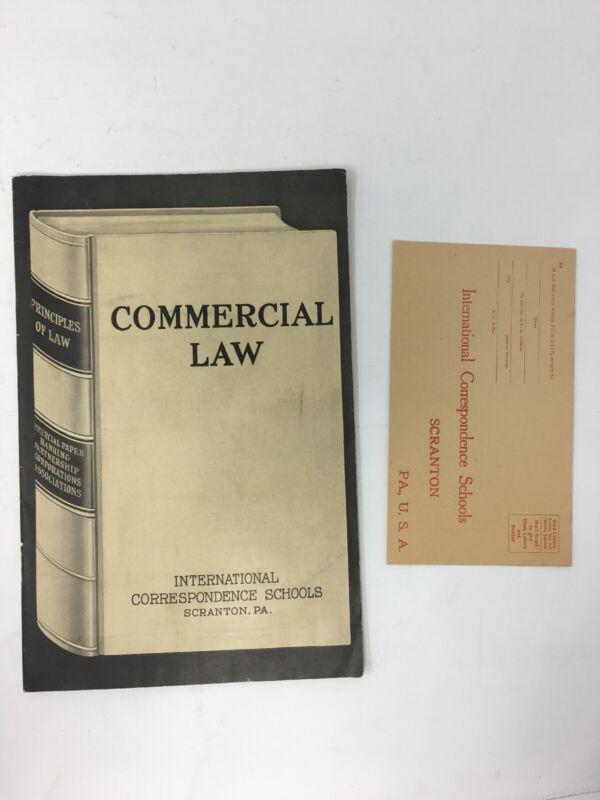 1906 International Correspondence School Advertising Booklet w/ Envelope