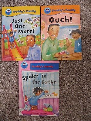 3 Books Used Freddy