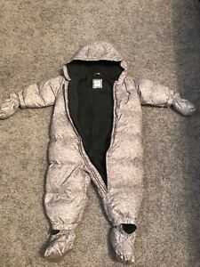 Gap 12-18 Months ColdControl Max Down Snowsuit in Flint Gray
