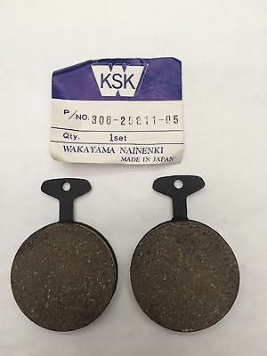 <em>YAMAHA</em> XS500 B FRONT BRAKE PADS 1975 TO 1977