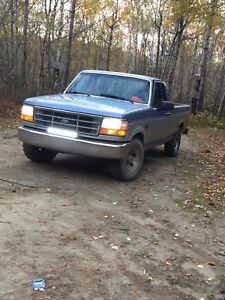 1996 Ford F-150 302 automatic 2wd long box