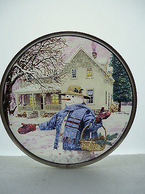 2002 Glassmasters for Lenox Collections Snowman Gathering Pine Cones Ned Young  for sale  Philadelphia