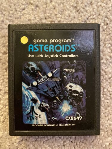 Asteroids Atari 2600, 1981  - $0.99