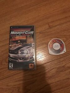 Jeu PSP - Midnight Club LA Remix