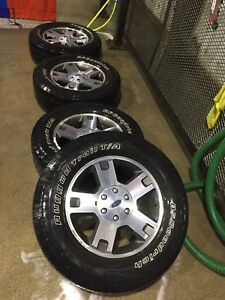 """18"""" Ford F-150 Rims and Tires"""