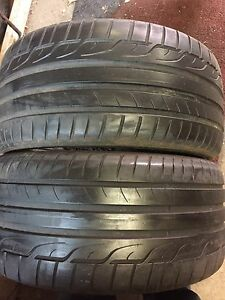 2 Dunlop 275/30/ZR21 summer tires 75% tread