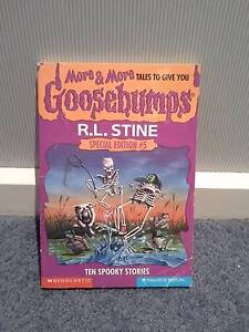 Ten Spooky Stories, R. L. Stein. Goosebumps Book, Special Edition Bendigo Bendigo City Preview