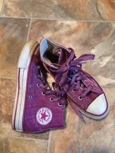 Converse Allstars - Pink with Sparkles, size 13