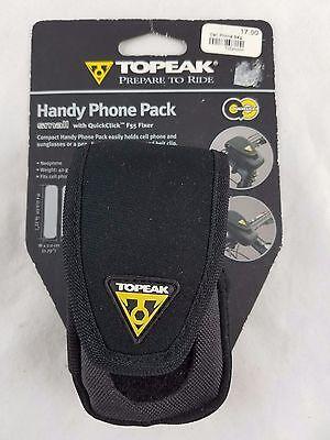 Topeak Handy Phone Pack SMALL W/QuickClick F55 Fixer Black 8p - Handy Phone Pack