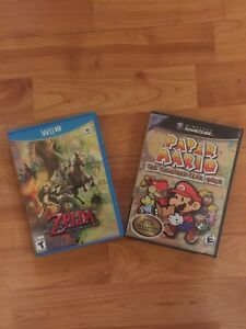 Wii u and Gamecube Games