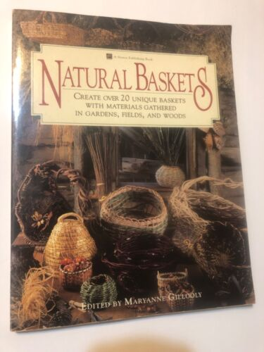 Natural Baskets Book  158 Pages Soft Cover Create Over 20 Unique Baskets.