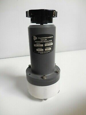 Fluorocarbon Co. Frp 500-2 Teflon Pressure Regulator