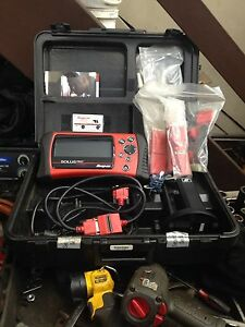 Automative snap-on scanner soluspro