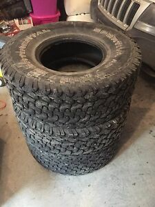 3 33inch tires