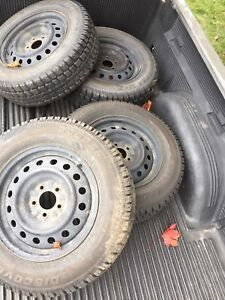 Cooper Discoverer M+S winter tires 16in