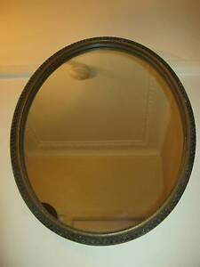 MID CENTURY OVAL MIRROR Riverwood Canterbury Area Preview