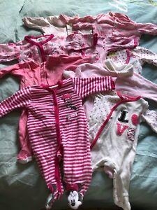 Baby girl 0-3 months pijamas