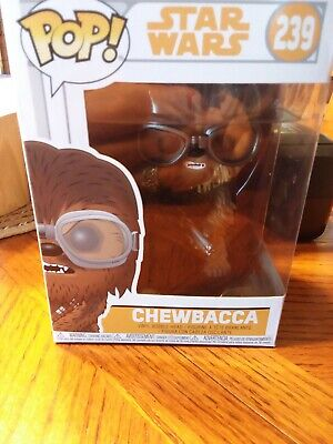 Funko POP! Movies Star Wars Chewbacca w/ Goggles Collectible Figure Item #239