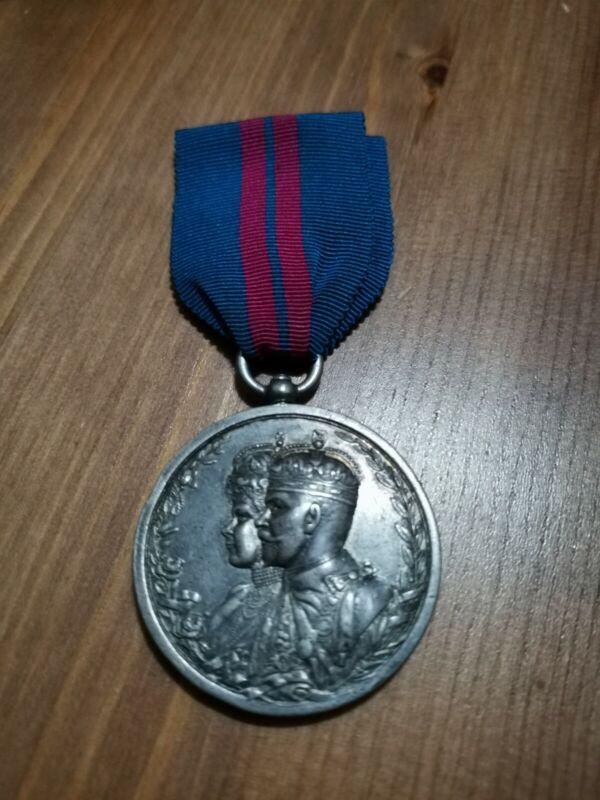 British Empire Order 1911 Delhi Durbar Medal