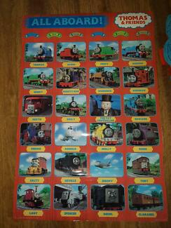 Thomas The Train Rug, Poster, Pillow Pal
