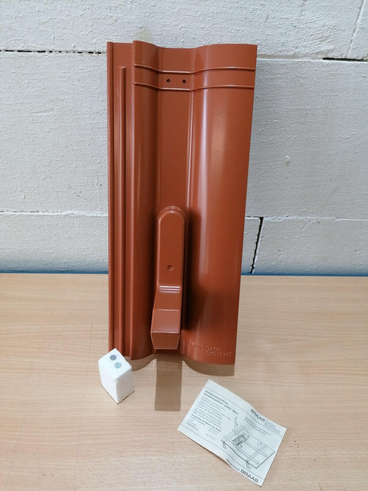 Fleck Antennendurchgangspfanne PVC für Braas Taunus Pfanne