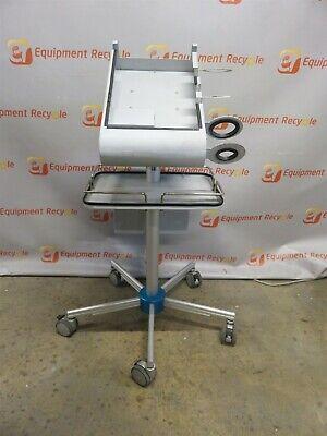 Bioscan Cubescan Bladder Scanner Cart Rolling Lab Nurse Hospital Urology