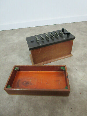 Vintage Leeds Northrup Microfarad Capacitor Lab Test Equipment Electrical