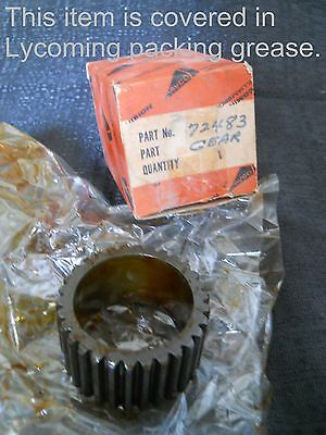 One (1) NEW Lycoming 72483 Vacuum Pump Gear (IGSO 540)