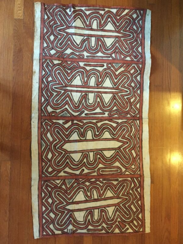 "Tapa Cloth from Papua New Guinea  58"" X 29.5"""