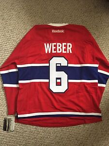 Official Montreal Canadians Weber jersey