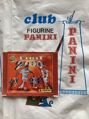 Panini Pochette Pack Bustina Tüte Sobre Football France 2000