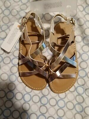 Gymboree girls rose gold sandals size 13 nwt - Girls Size 13 Sandals