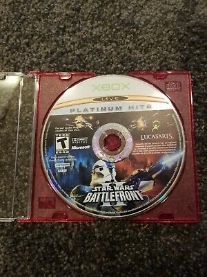 Star Wars: Battlefront II 2 (Microsoft Xbox, 2005) Video Game Disc Only