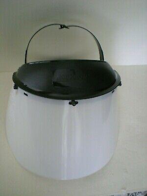 Jackson Safety Model K Headgear 14381 And Clear Face Shield Visor 30706 F20