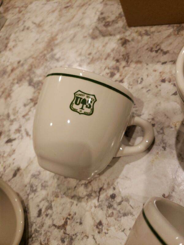 FOREST  SERVICE CUP..COORS CHINA CO. USA.