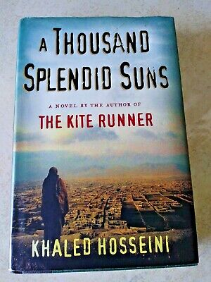 A Thousand Splendid Suns by Khaled Hosseini Hardcover w Dust Jacket 2007