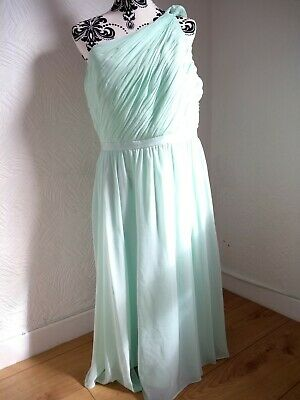 V By Very One shoulder Prom Dress size 16